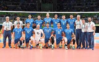 El seleccionado argentino de voleibol comenzó su paso por los Juegos Olímpicos de Río de Janeiro con una sonrisa, es que ayer por la noche, los conducidos por Julio Velasco derrotaron 3-0 a Irán y en consecuencia se encaminan de la mejor manera de cara a un futuro inmediato en la competición.