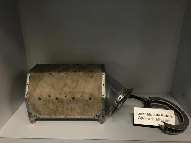 50 years now, AAF AIR Filters on Apollo Mission 11 and Today in International Space Station - AAF Filters are out of the World - Literally!