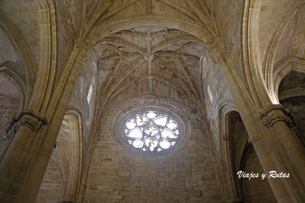 Interior de la Catedral Vieja de Plasencia