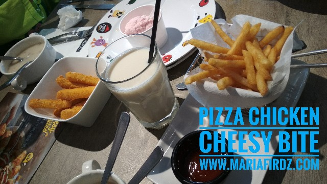 Akhirnya Dapat Juga Merasa Chicken Cheesy Bite by Pizza Hut