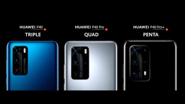 Huawei P40 series launched - specifications and features
