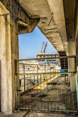 La trágicas ruinas del Estadio Panamericano
