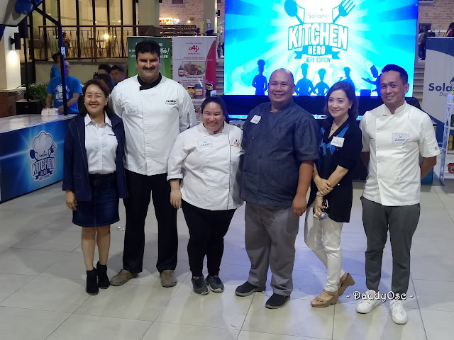 Judges of Solane Kitchen Hero Chefs' Edition
