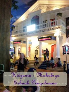 Kidzania, Jakarta, pengalaman, anak-anak