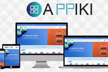 [GRATIS] Download Appiki App Store dan Review Template Blogger