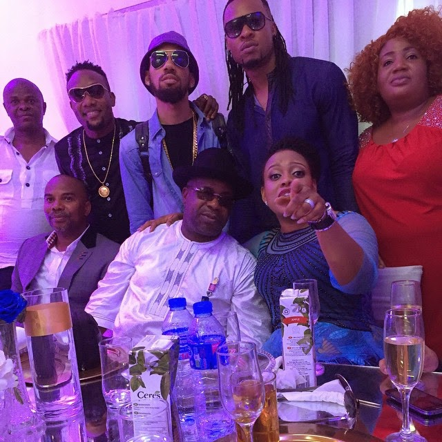 PHOTOS: Phyno, Flavour & Kcee Attends Emeka Offor's Birthday Party