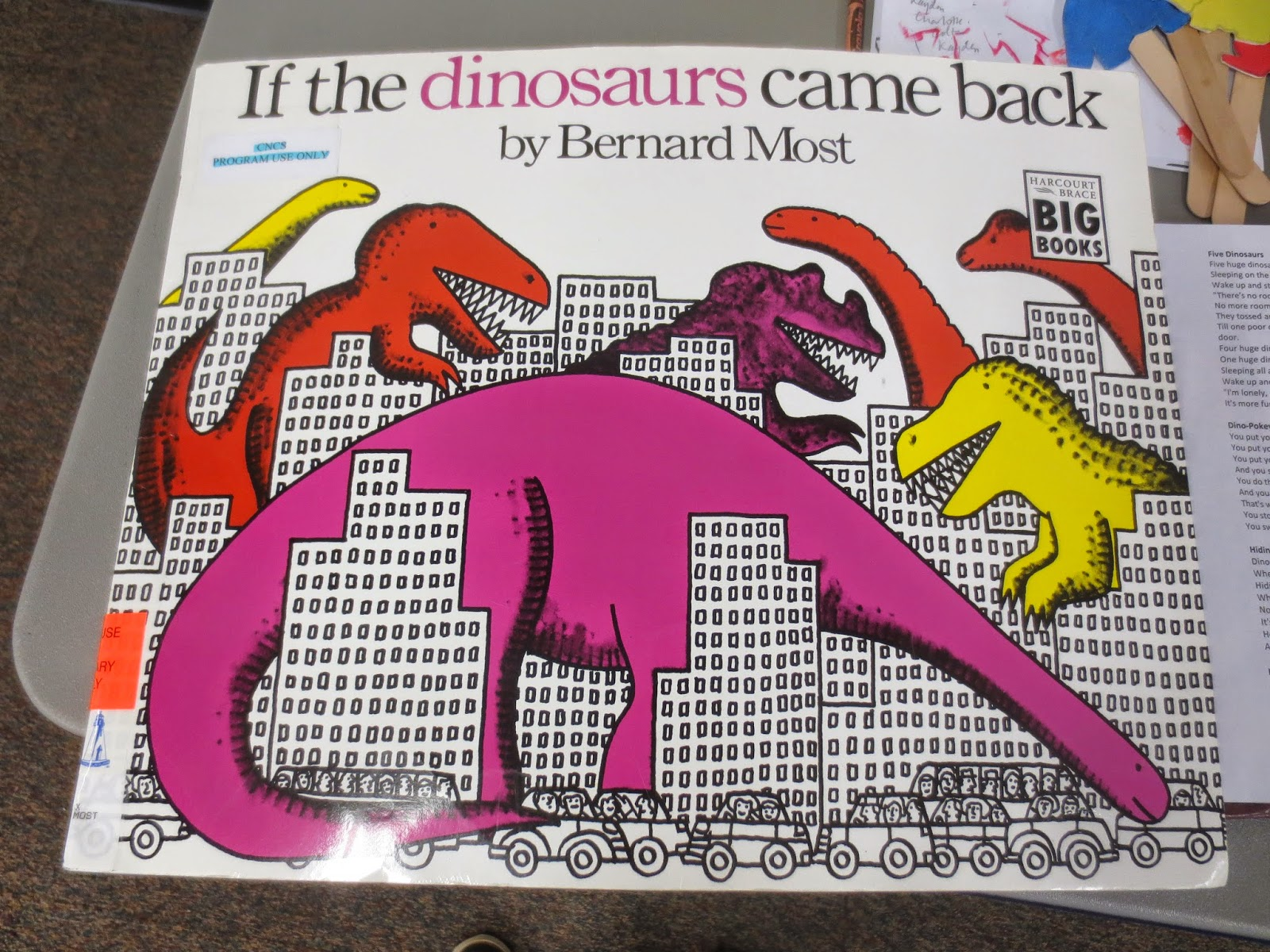 Project I Am Abbey Dinosaurs Theme Toddler Storytime