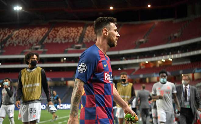 Messi thua đậm Cúp C1 chưa đủ, bị chê tài thủ lĩnh thua xa Ronaldo