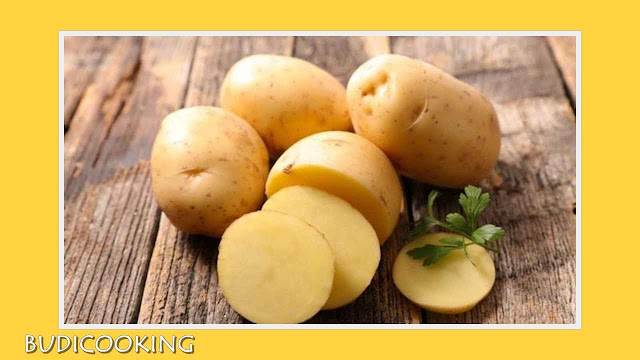 kentang kupas