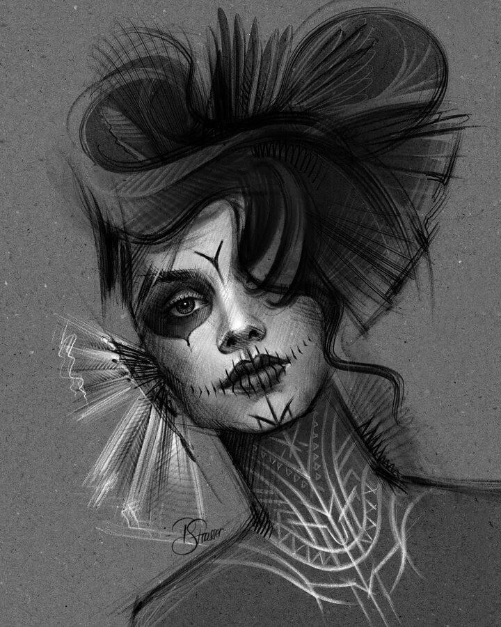 09-Digital-Art-Portraits-Petra-Strasser-www-designstack-co