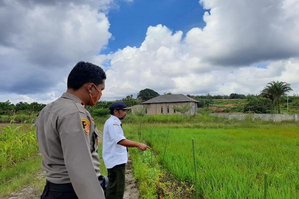 Polsek Aruta Gandeng Unsur Muspika Ciptakan Desa Pantang Mundur