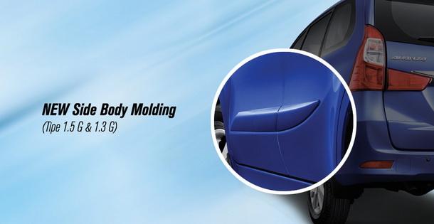 New Side Body Molding Toyota Grand New Avanza