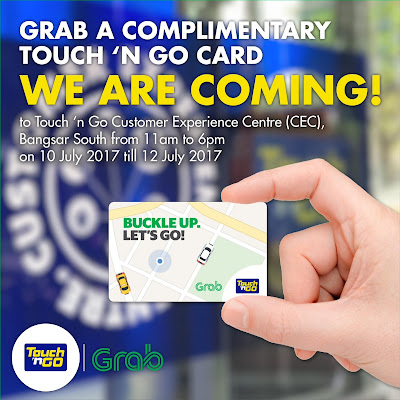 Grab Free Touch 'n Go Card Giveaway Promo