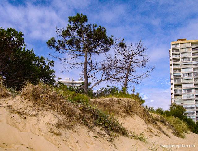 Praia em Punta del Este