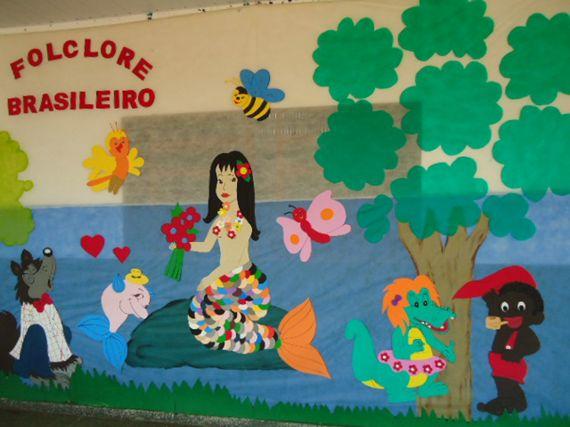Painel Dia Do Folclore: Dia Do Folclore - Sugestão De Atividade