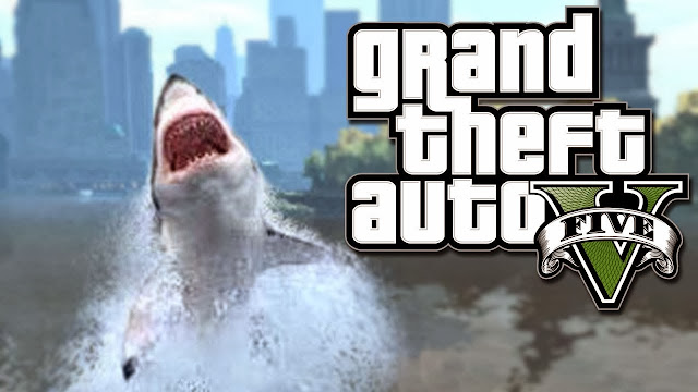 GTA V Shark Glitch