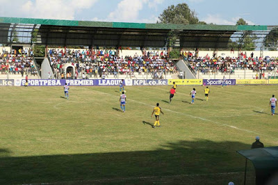 Kinoru Stadium opened by Peter Munya. PHOTO | Courtesy