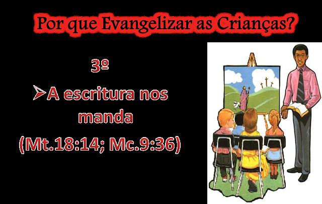 Resultado de imagem para A EVANGELIZAÇÃO DAS CRIANÇAS