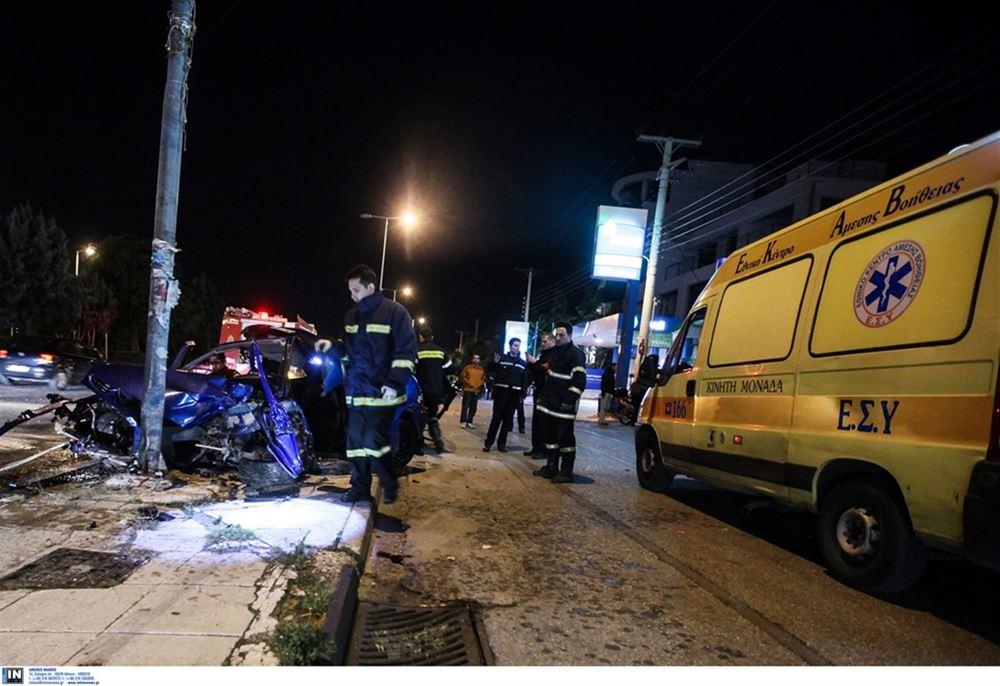 Τραγωδία στην Χαλκιδική: Νεκρός 57χρονος σε τροχαίο