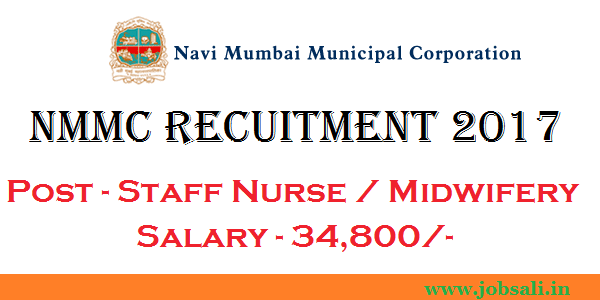 nmmc staff nurse vacancy 2017, staff nurse jobs in mumbai, government nursing jobs in mumbai