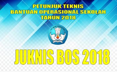 Juknis BOS 2018 untuk SD, SMP, SMA dan SMK
