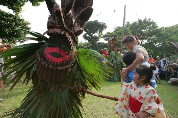 Boze God Mask Festival, Akuseki Island, Tokara Village, Kagoshima