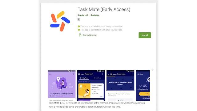 Google'dan Yeni Para Kazanma Yöntemi : Task Mate Nedir ?