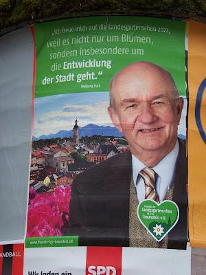 Wolfgang Stark zur Landesgartenschau Traunstein