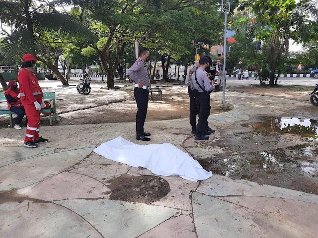 Seorang Sopir Taksi Ditemukan Tak Bernyawa di Taman Tepian Mahakam - Samarinda