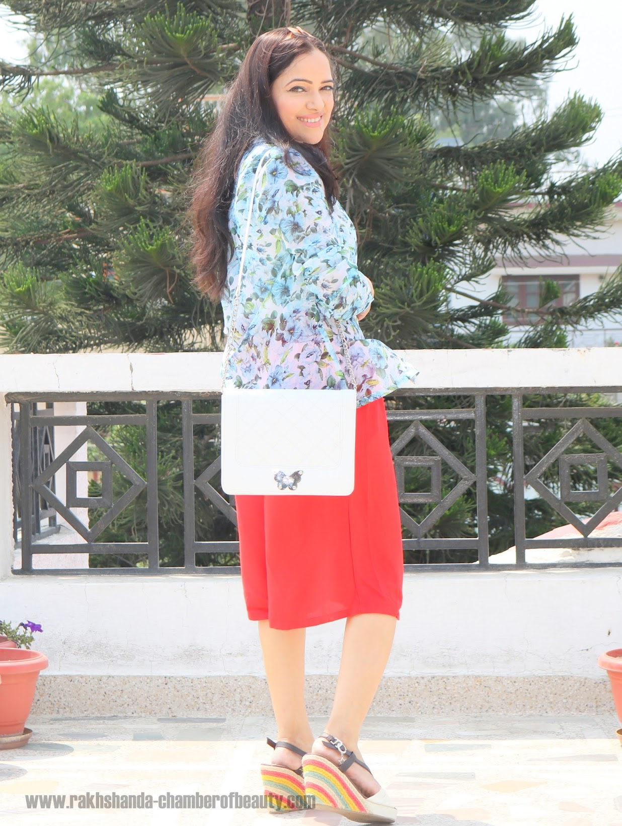 fashion, how to style printed shirts in summer, Indian fashion blogger, Iralzo, OOTD, outfit of the day, printed shirt, summer fashion,