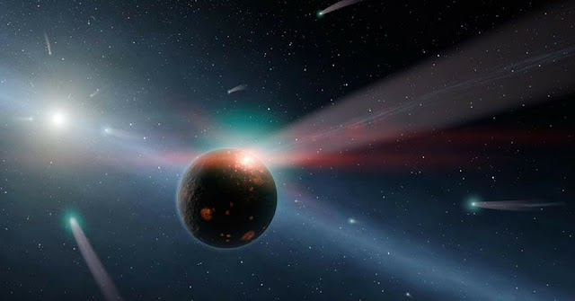 #Science :Indian scientists discover planet 600 light years away .It revolves around a Sun-like star !