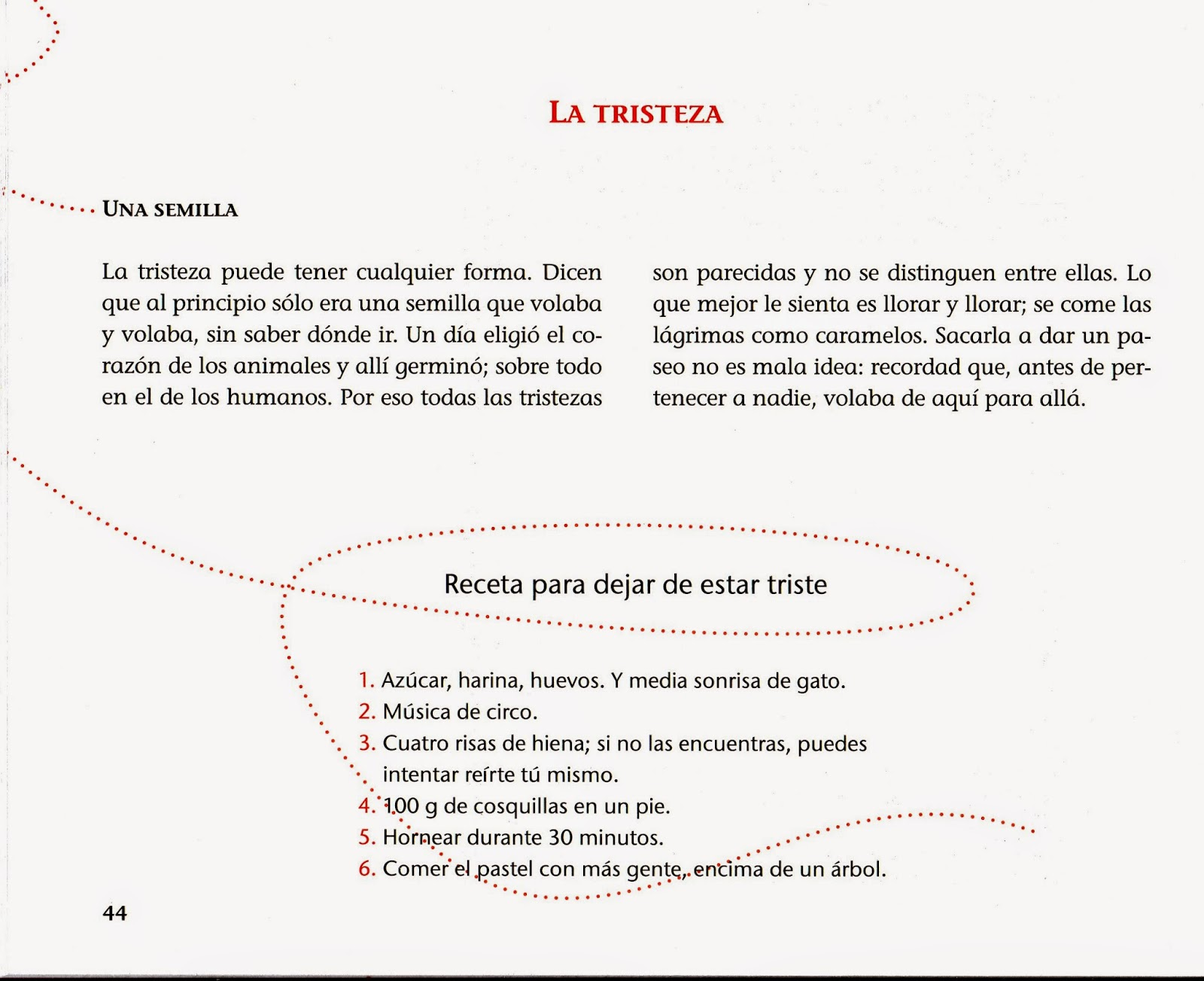 Resultado de imagen de recetas de lluvia y azucar pdf