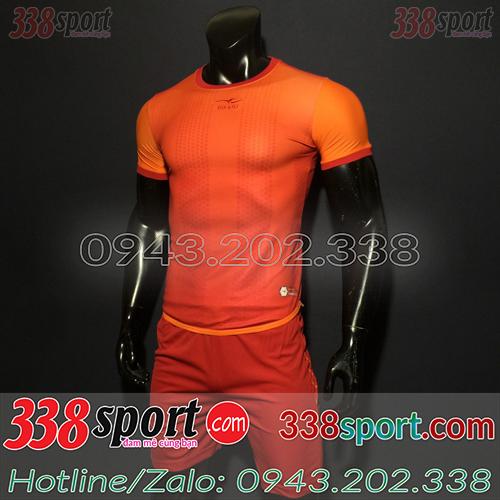 Áo Bóng Đá Không Logo Hot Keply RiOn STA05 Đỏ