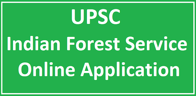 UPSC IFS Jobs Online Application