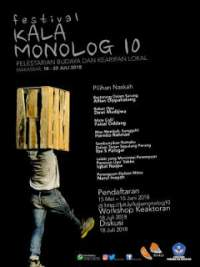 Festival Kala Monolog x 2018