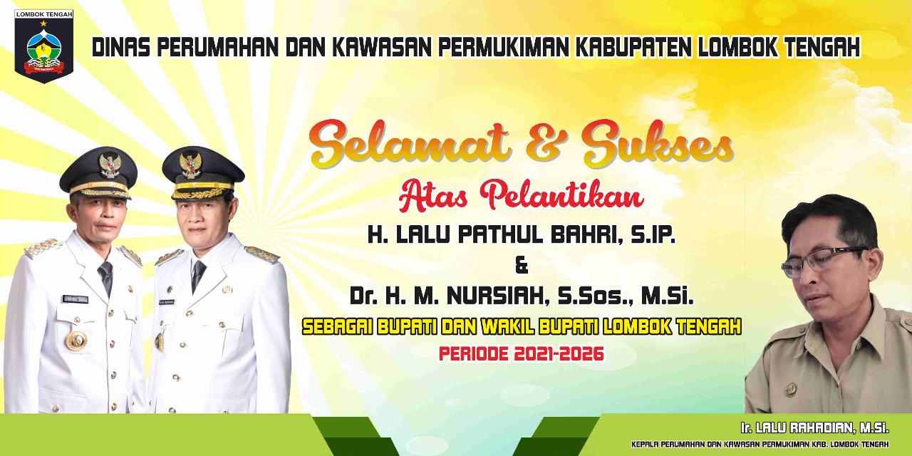 Dinas Perumahan Dan Permukiman Lombok Tengah