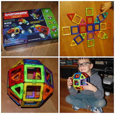 magnetic construction toy