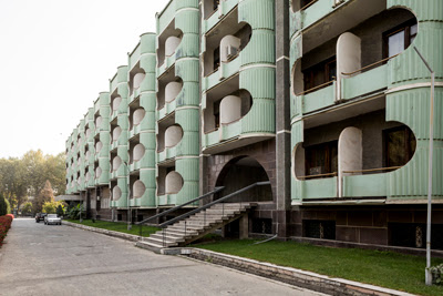 soviet architecture central asia, tashkent bishkek almaty soviet buildings, small group architecture craft textile tours central asia