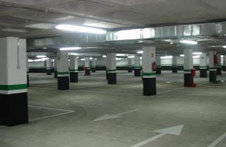 Parking vigilado en la Diputación Provincial