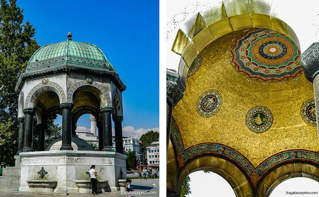 Fonte Alemã, Praça de Sultanahmet, Istambul