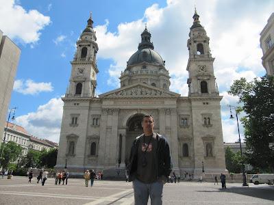 fachada Basilica de San Esteban, iglesias Budapest