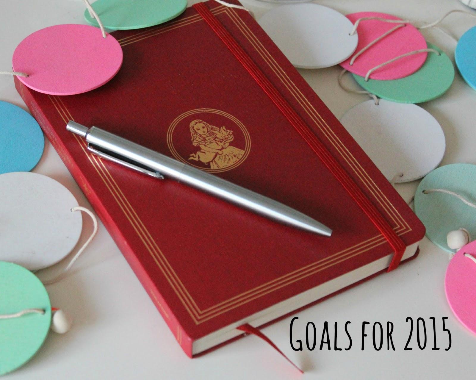 Goals of 2015