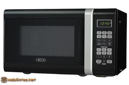 Bella 700-Watt Compact Microwave Oven