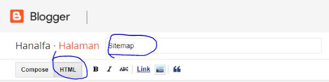 Cara Buat Sitemap Blog Template Viomagz, Linkmagz, Evomagz