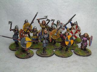 gripping beast shieldmaidens saga amazons