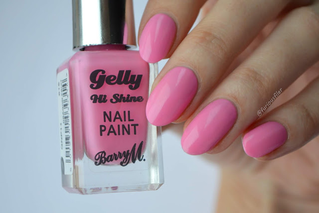 barry m dragon fruit pink swatch furious filer
