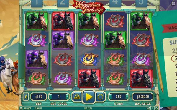 Main Gratis Slot Indonesia - Marvelous Furlongs Habanero