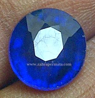 Batu Permata Royal Blue Saphire - ZP 280