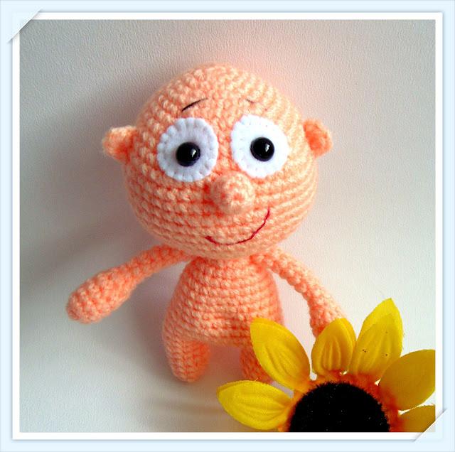 #amigurumi #crochet #soft #toy #boy #pink #yarn #heegeldatud #poiss #roosa #mänguasi  #lõng