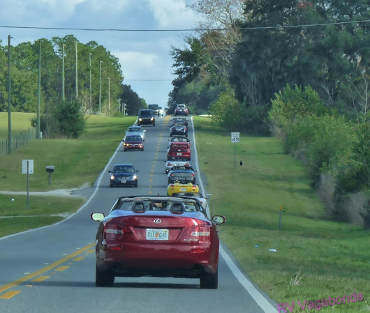 The Convertible Club Does the Mt. Dora Christmas Walk
